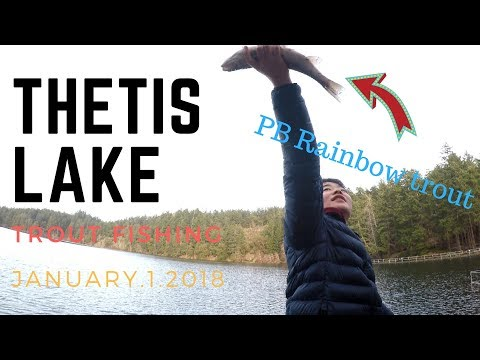 Two PB Rainbow Trout?!?! First Fish At Thetis Lake Vancouver Island BC Canada