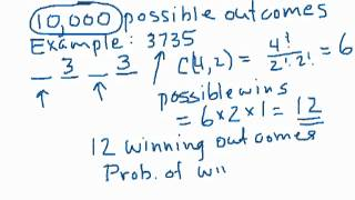 betting any order in pick 4 lottery part 1