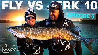 FLY VS JERK 10 - Ep. 5 - River Day (with German, French & Polish subtitles)