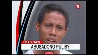 Raffy Tulfo, Uminit Ang Ulo Dahil Sa Abusadong Pulis Inspektor!