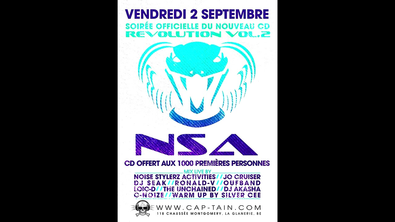 Download NSA - Revolution Vol.2 Mix Live By Noise Stylerz Activities - Album Complet