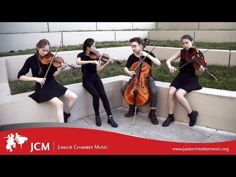 INCENDIUM QUARTET (Music Video) - Junior Chamber Music (JCM)