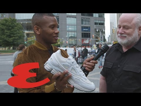 Is The Ugly Sneaker Making A Comeback? | ESQUIRE: Re-Fashioned