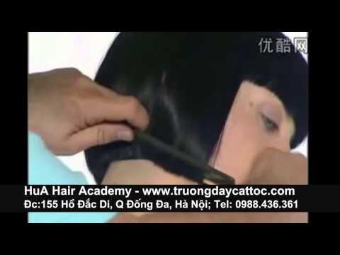 Dạy cắt tóc đầu bob từ cơ bản đến nâng cao phần 5 -www.truongdaycattoc.com