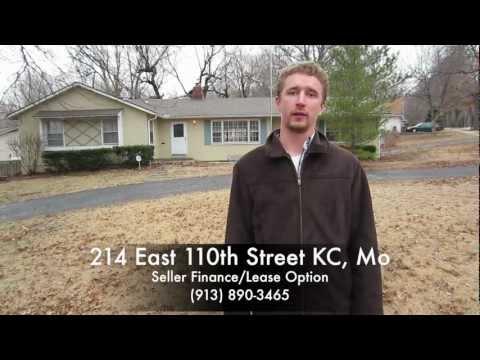 Seller Financing/Lease to Own at 214 E. 110th Street, Kansas City, Missouri