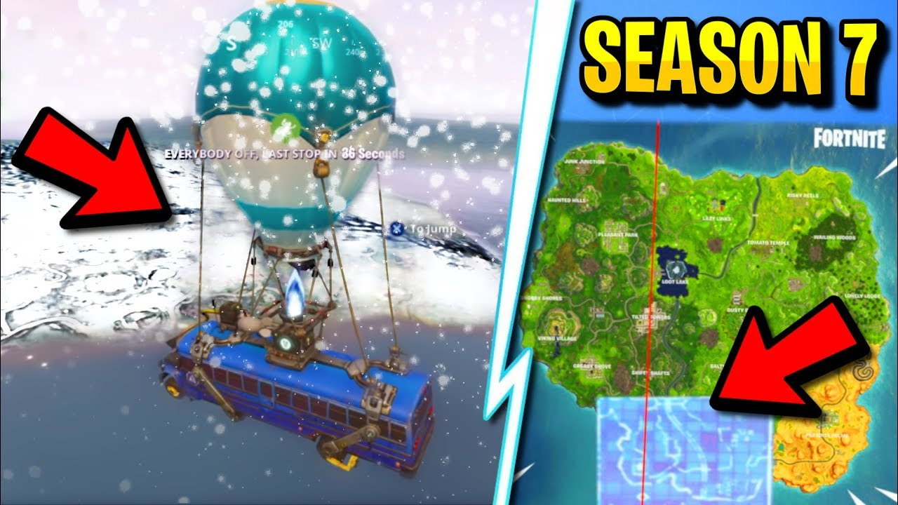 New Season 7 Map Leaked Fortnite Season 7 Map Changes Revealed