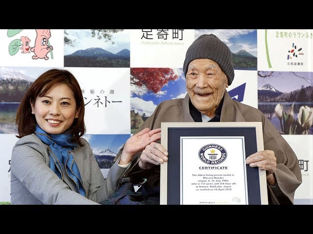 World's oldest man dies aged 113 at home in Japan