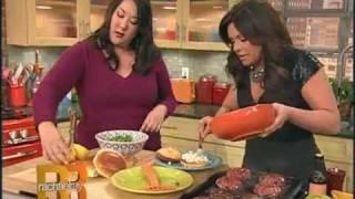 Burger Bash Winner - Jen Barthell On Rachel Ray