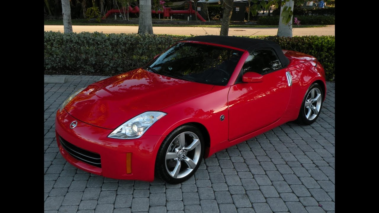 2008 nissan 350z touring roadster for sale auto haus of fort myers florida youtube. Black Bedroom Furniture Sets. Home Design Ideas