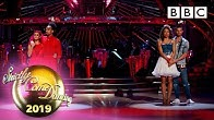 The judges vote and we say goodbye! 😢 - Week 4   BBC Strictly 2019
