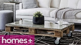 Diy Project: Pallet Coffee Table - Homes+