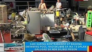Sari-saring kontrabando at bagong swimming pool, nadiskubre sa ika-13 Oplan Galugad sa Bilibid