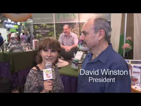 Herbalist David Winston, RH (AHG) at Expo East