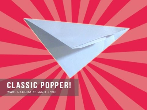 How To Make An Origami For Kids A Paper Popper That Can Pop Loudly