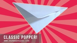 Origami Tutorial: Classic Popper | Lets Pop A Popper!!! | Easy!