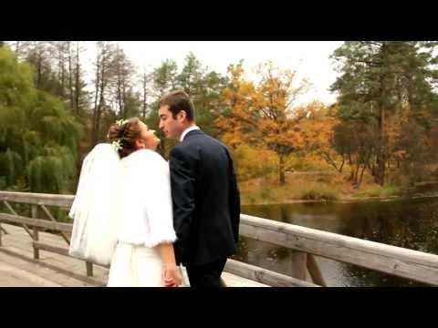 Золотая осень. Видео свадебное