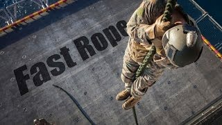 Marines Hit the Deck with Fast Roping