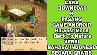 Gambar cover CARA DOWNLOAD GAME HARVEST MOON BACK TO NATURE FOR ANDROID SECARA GRATIS VERSI INDONESIA DAN INGGRIS