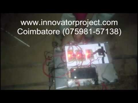 Automatic railway track crack detecting vehicle / Best automation project center in coimbatore