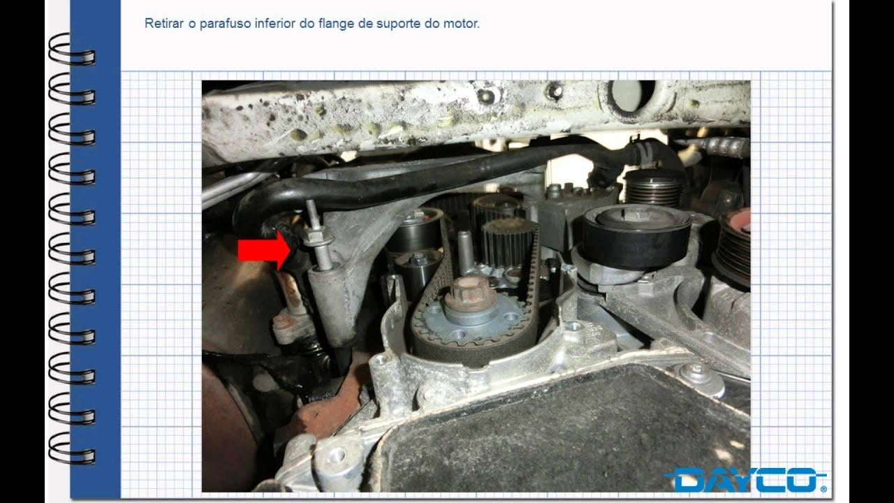 montagem kit distribuicao skoda octavia  tdi motor