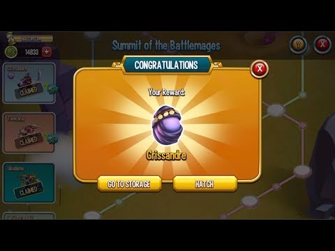 Monster Legends - Battlemages maze island - How to unlock all :v