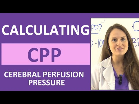 How to Calculate Cerebral Perfusion Pressure Nursing (CPP)