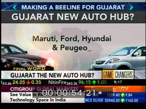 Gujarat The New Auto Hub?
