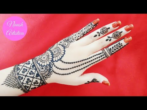 beautiful-floral-mehndi-design-|-easy-mehndi-design-|-jewellery-mehndi-design---naush-artistica