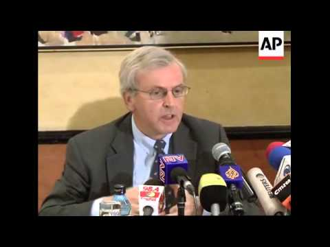 UN Under-Secretary-General for Humanitarian Affairs official presser