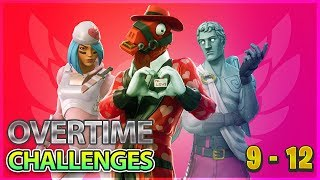 Fortnite Overtime Challenges Guide - Challenges 9 - 12 Free Season 8 Battle pass