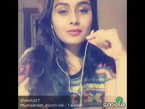 Muskaanein jhooti hai | Talaash | karaoke | Kareena Kapoor |