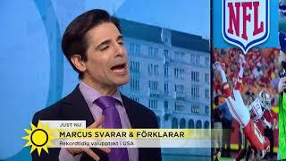 Val-yran har redan kopplat greppet om USA - Nyhetsmorgon (TV4)