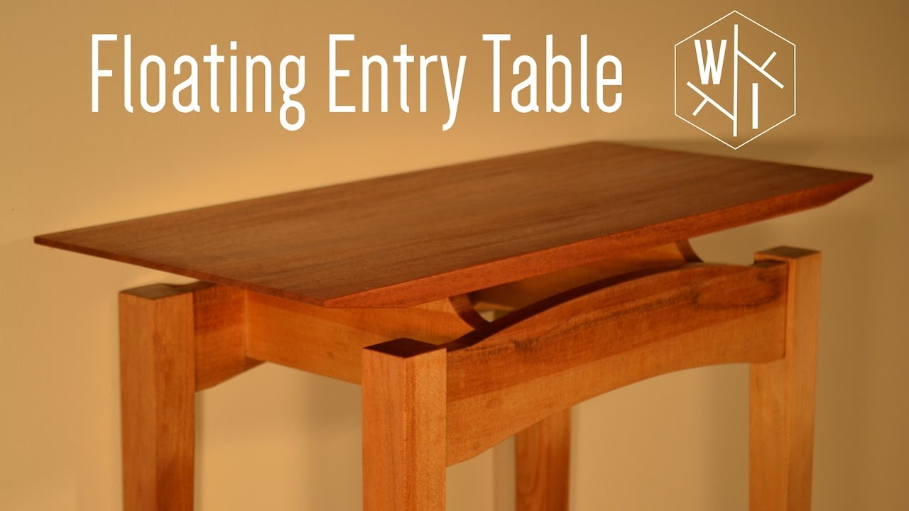 Superb Floating Entry Table