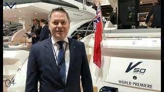 New Princess V50 (2018) | Премьера яхты | London Boat Show