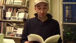 """Pierric Bailly lit quelques pages de """"L"""