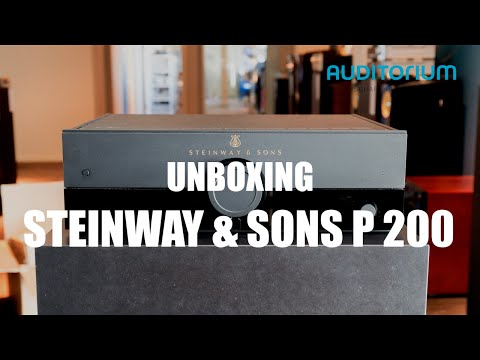 Unboxing Steinway & Sons P200