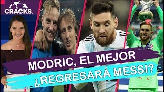 "DUDAN que MESSI regrese a ARGENTINA | ""MODRIC, el MEJOR del AÑO""  | ¿OBLAK no es de los mejores?"