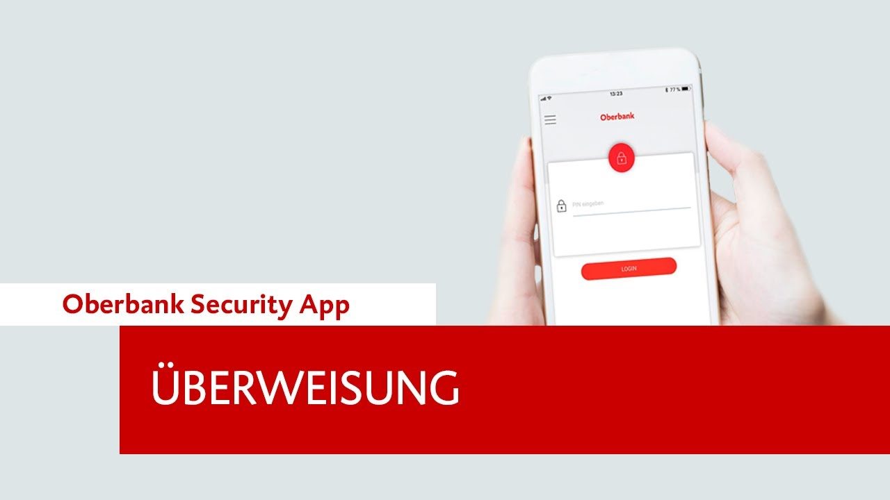 Oberbank Security App Uberweisung Youtube