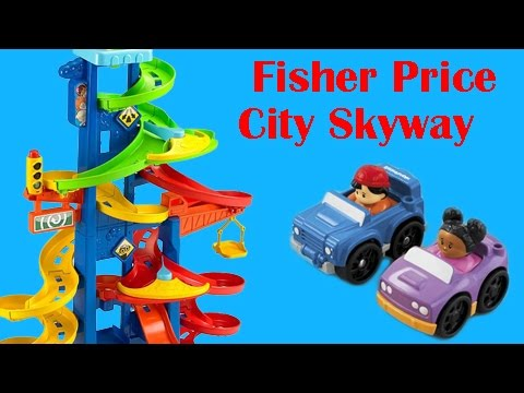 Fisher Price City Skyway - Unboxing And Build