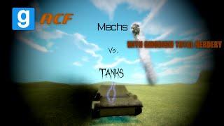 Garry's Mod ACF Battle: Tanks vs. Mechs with Gmodism