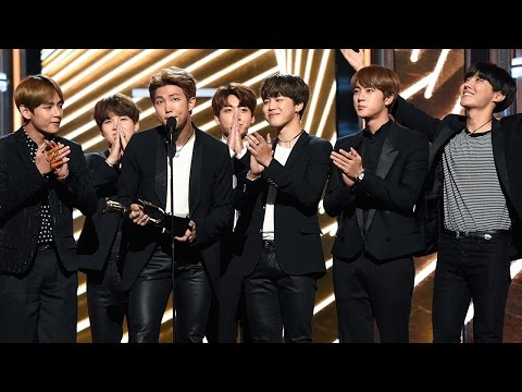 BTS Becomes First K-Pop Act In History To Win A Billboard Award