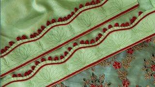 Easy and stylish salwar mohri design making