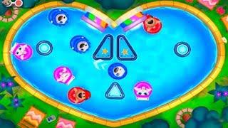 ГОВОРЯЩИЙ ТОМ АКВАПАРК ОХОТА ЗА ЯЙЦАМИ  #7 мультик игра видео для детей  Talking Tom Pool Egg Hunt