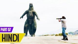 Godzilla Or Trevor ki Jang in GTA 5 - #Slender Man 2 #7