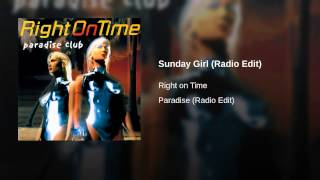 Sunday Girl (Radio Edit)