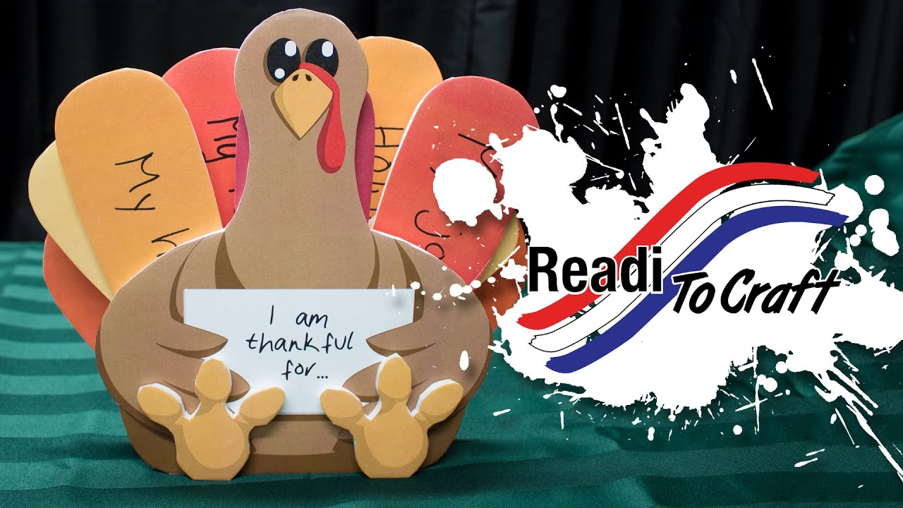 Readi to Craft: Thankful Turkey
