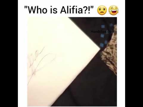 Who is Alifia? Original video