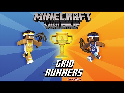 Be the First to Play the New Minecraft Minigame – Grid Runners (Extended Gameplay Trailer)