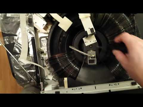 Sony CDP-CX300 300 Disc Changer Belt Repair And Maintenance While Full