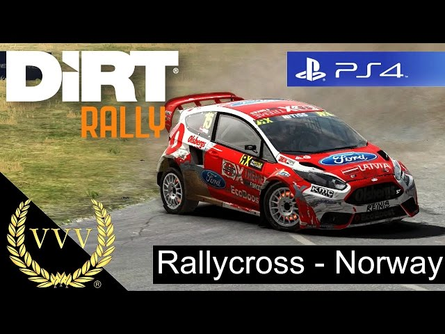 Dirt Rally PS4 Gameplay, RallyCross Norway - Hell Circuit